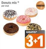 Donuts Mix 3+1 gratis_
