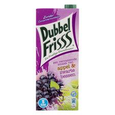 DubbelFriss Appel Zwarte Bessen 1,5ltr