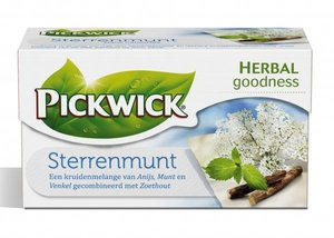 Pickwick Sterrenmunt 1-Kops 40gr