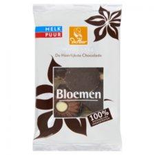 De Heer Choco Bloem Melk/Puur 150gr
