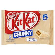 Kitkat Chunky White 5-Pack