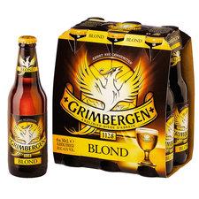 Grimbergen blond fles 6x30cl