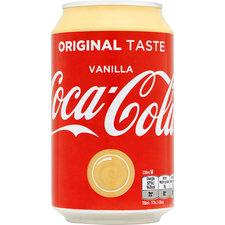 Coca Cola Vanille blikje
