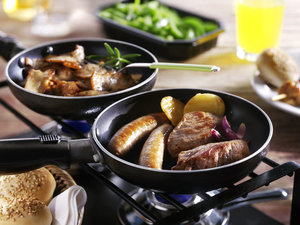 Mixed Gourmet menu (Halal) met bakplaat