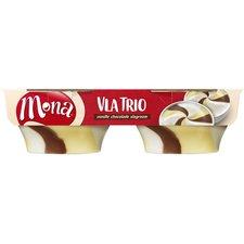 Mona Vla trio Vanille Chocola Slagroom 2st