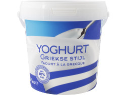 Koning Griekse Stijl Yoghurt 10% vet 1kg