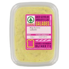 Spar Kip Kerrie Salade 150Gr