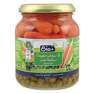 Bio+ Doperwten  wortel